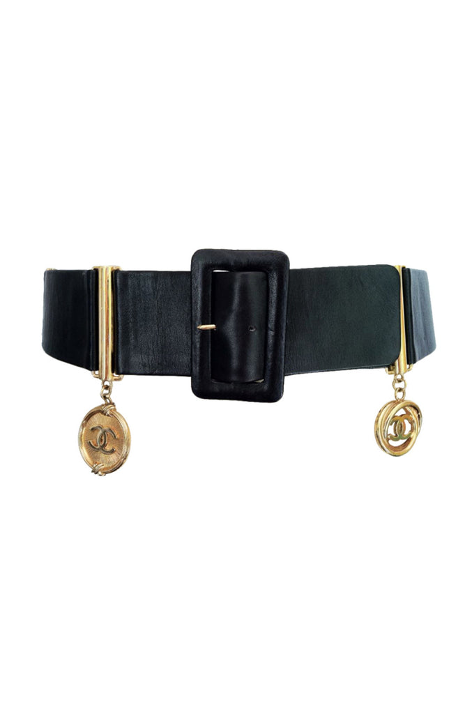 Rare CHANEL Charm Cinch Belt 1980s