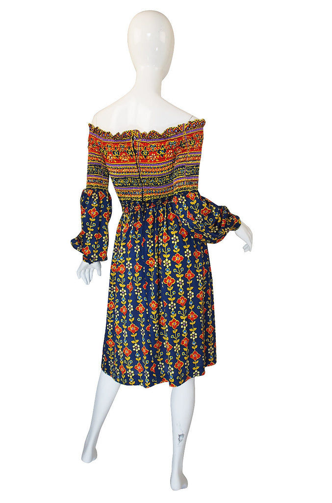 Documented 1971 Oscar de La Renta Dress