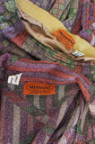 1972 Missoni Metallic Three Pieces Pantsuit Set