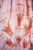 Rare 1974 Zandra Rhodes Lillies Dress