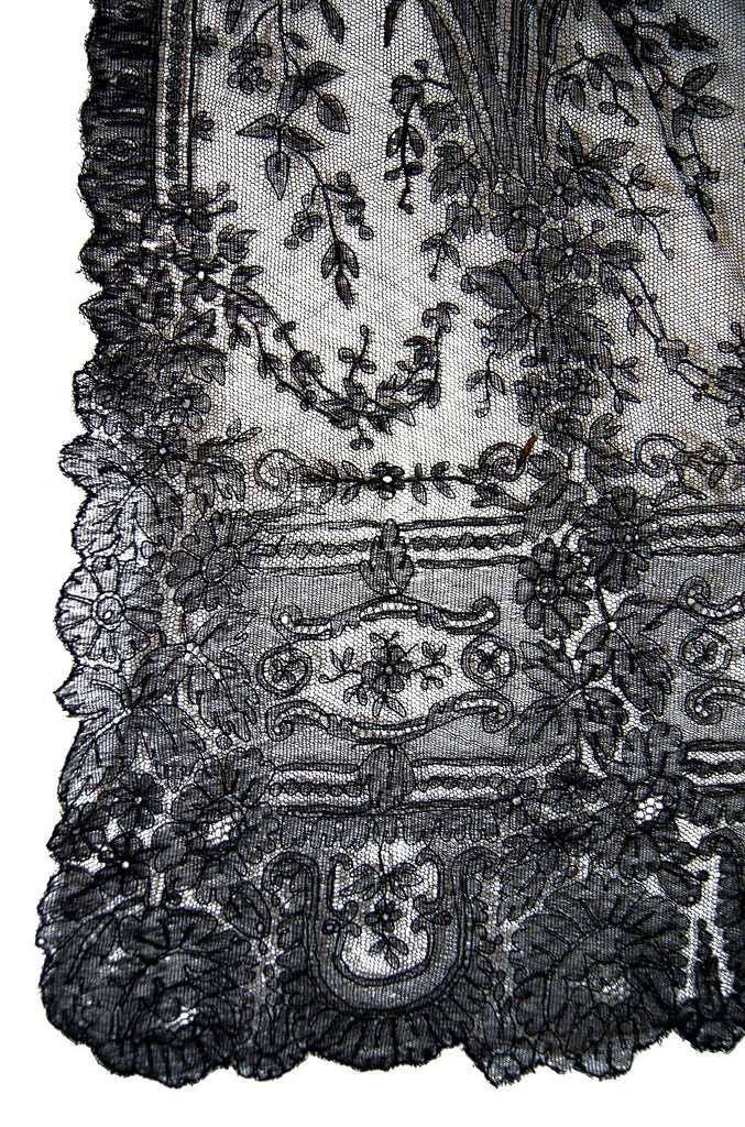 Victorian Handmade Chantilly Lace  Jacket