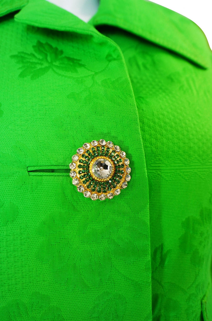 1960s Galanos Jewelled Dress & Jacket