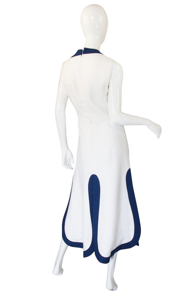1970 Pierre Cardin Car Wash Hem Maxi
