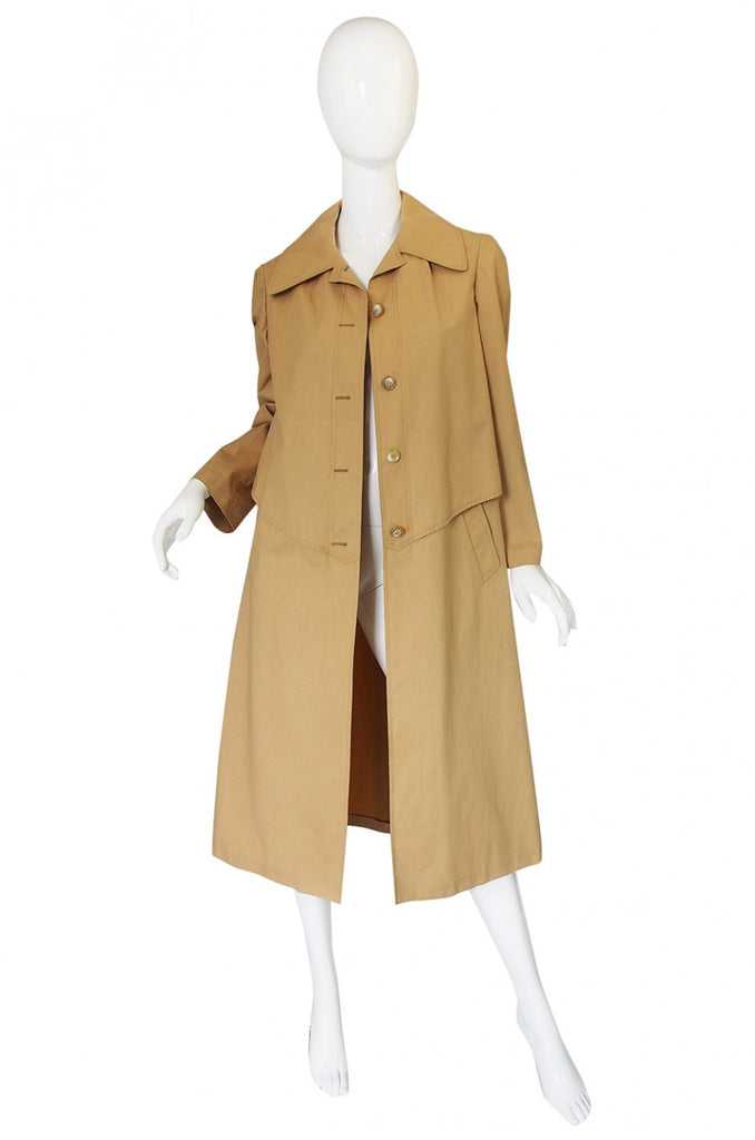 1950s Rare Hermes Macintosh Raincoat