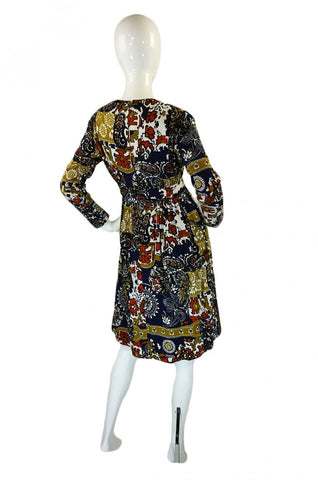 1960s Malcolm Starr Baby Doll Dress