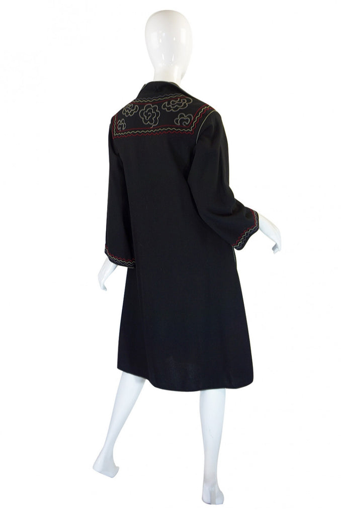 1970s Janice Wainwright Tunic Dress