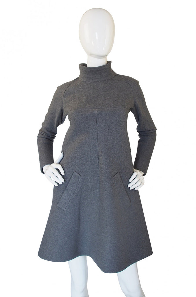 1960s Haute Couture Jean Patou Dress