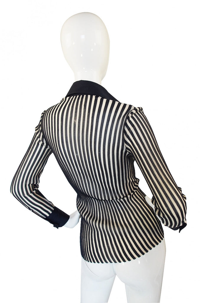 1970s Striped Knit Mila Schon Sweater