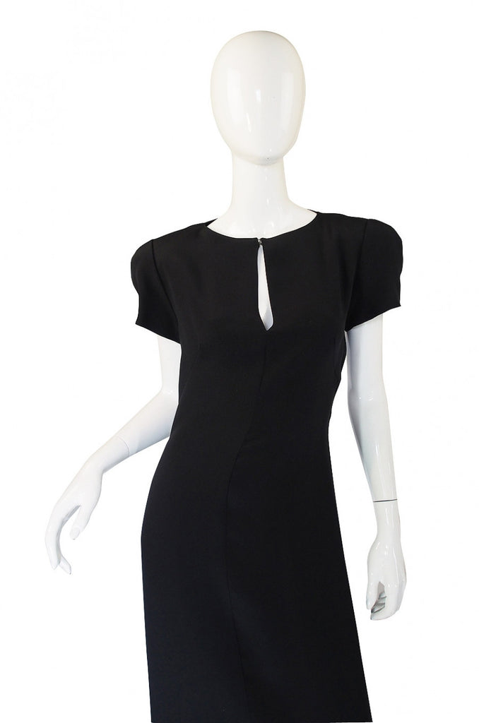 1980s Krizia Back Cut Outs Dress