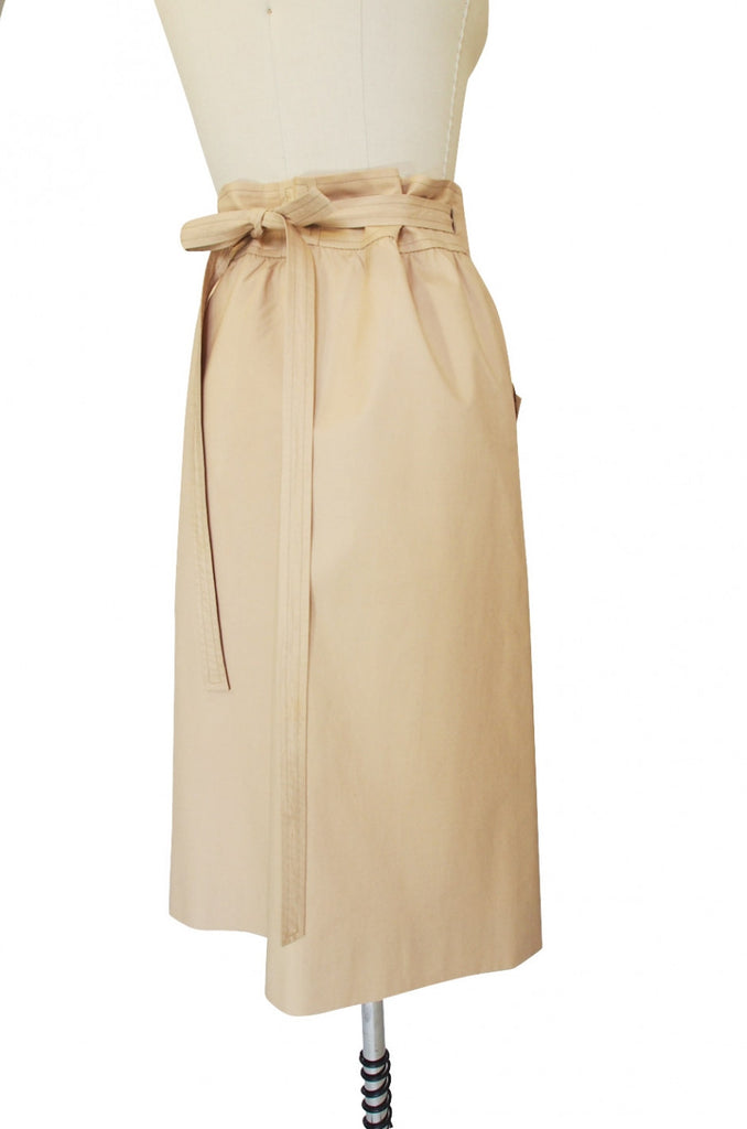 1970s Button Front Valentino Skirt