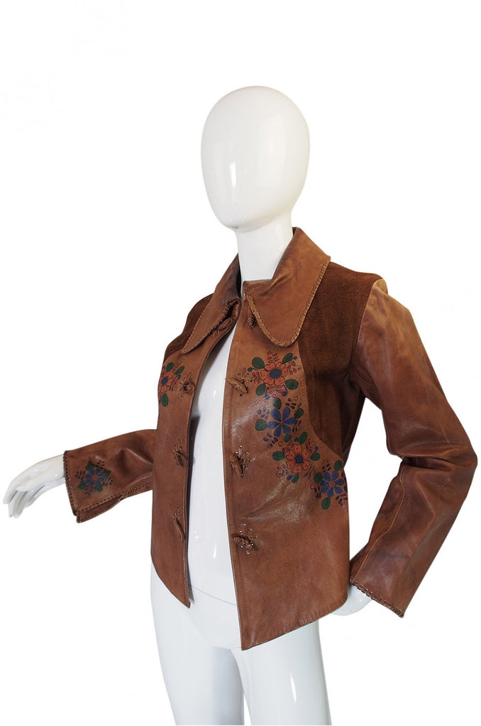 1960s Hand Painted Char Jacket