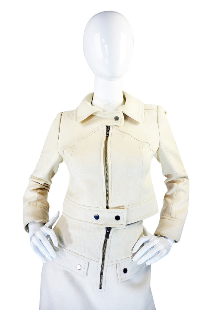 1960s Courreges Numbered Haute Couture Suit