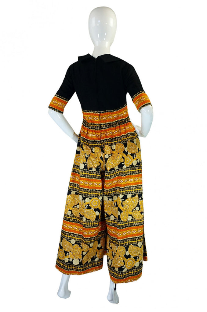 1960s Early Oscar De La Renta Jumpsuit