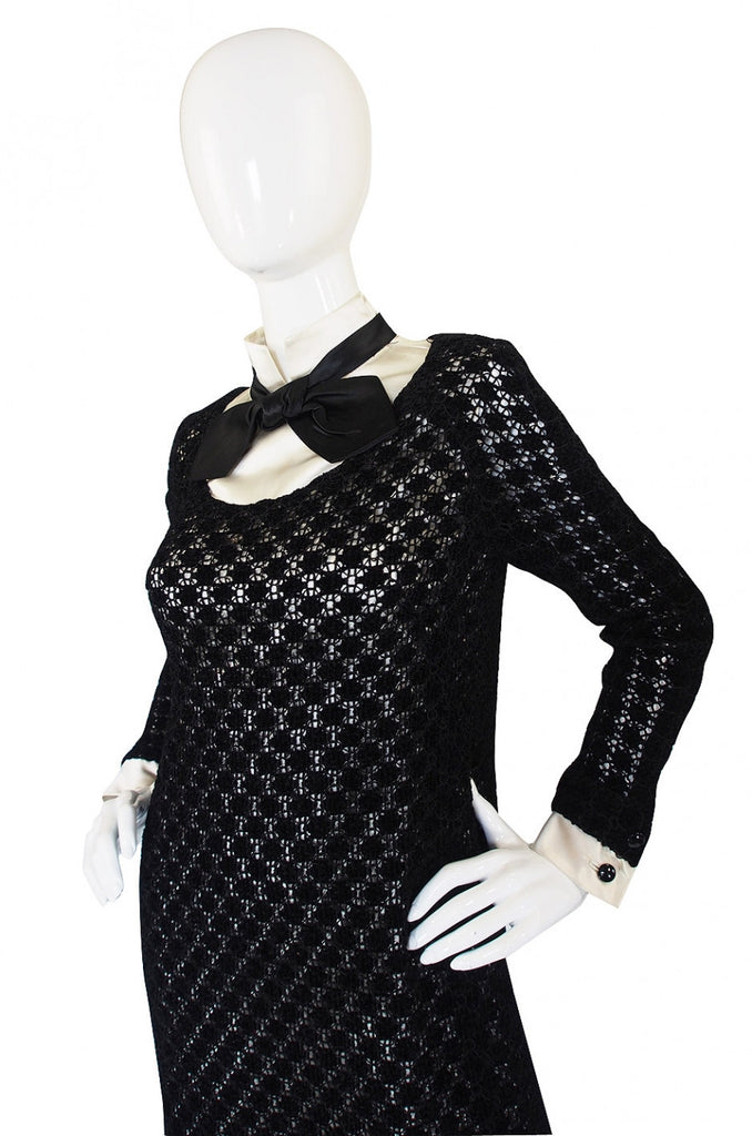 1960s Patrick De Barentzen Couture Dress