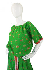 1950s Tina Leser Print Skirt & Top