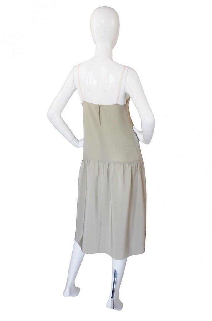 1970s Silk Chiffon Chloe Slip & Dress