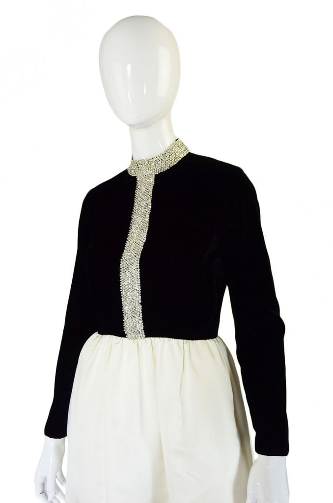 Now On Sale - 1960s Harvey Berin Heavily Beaded Gown