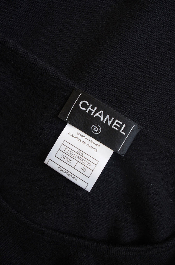 1999 Chanel Cashmere & Silk Sweater