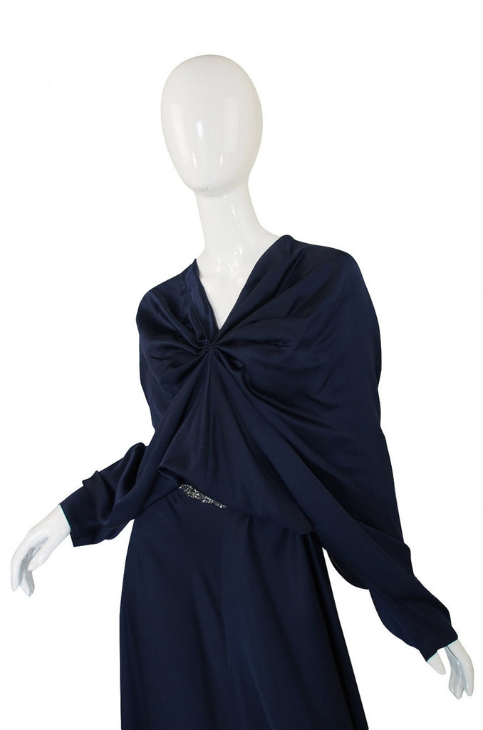 Recent Yves Saint Laurent Silk Bias Cut Gown