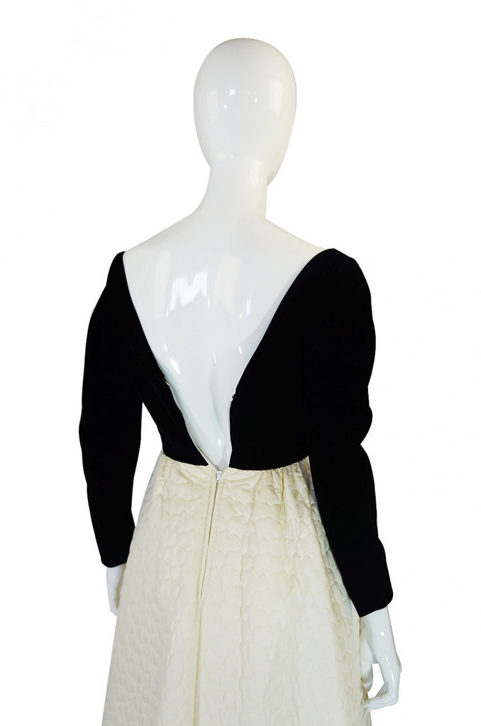 1960s Harvey Berin Original Quilted Gown
