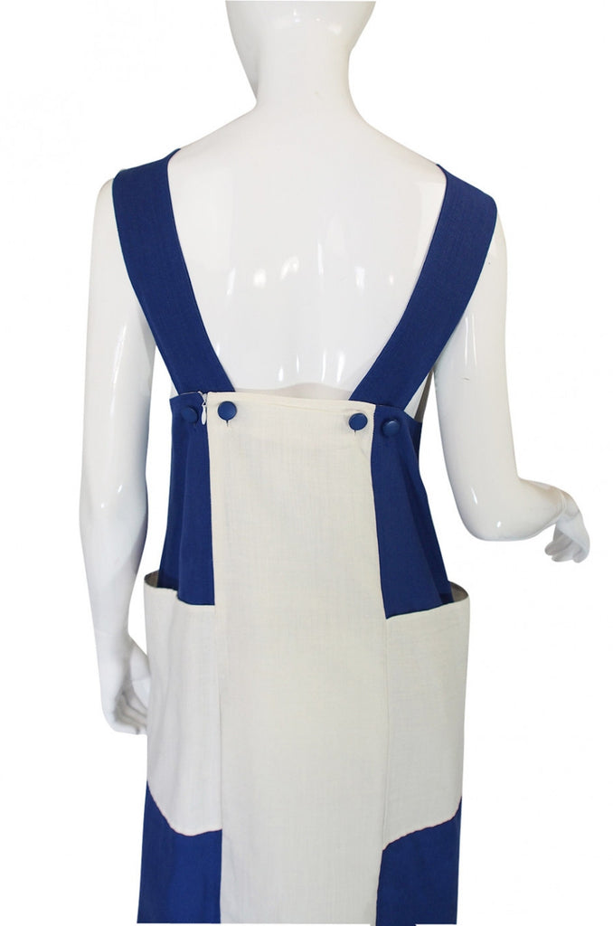 1960s Courreges Graphic Shift Dress