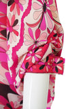 1960s Rare Emilio Pink Pucci Caped Top & Pant Set
