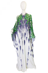 1970s Domitivalli Caftan and Maxi Dress