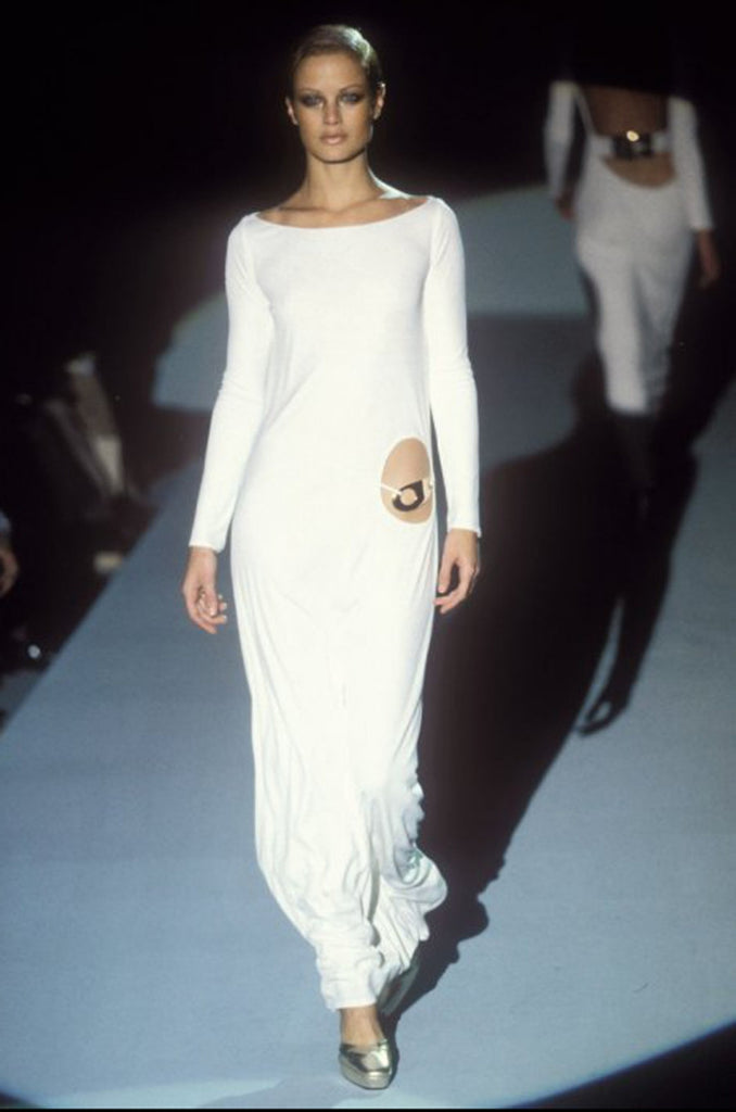 Documented F/W 1996 Tom Ford for Gucci KeyHole Gown