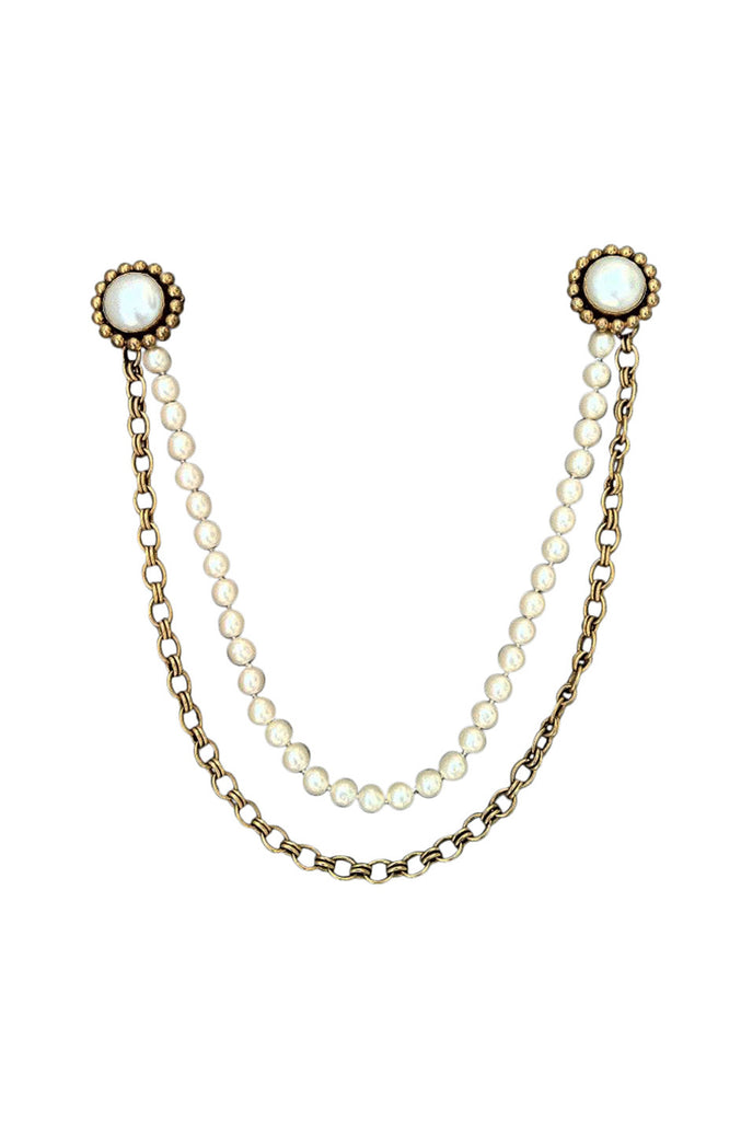 Rare Pearl CHANEL Chatelaine 1980s