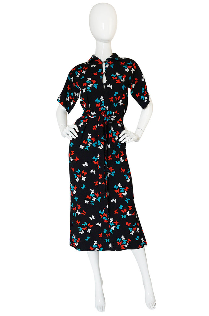 Well Documented 1978 Yves Saint Laurent Butterfly Dress