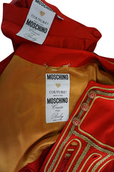 "Rare 1989 Moschino Couture ""Cruise Me Baby"" I Love Venice Suit"