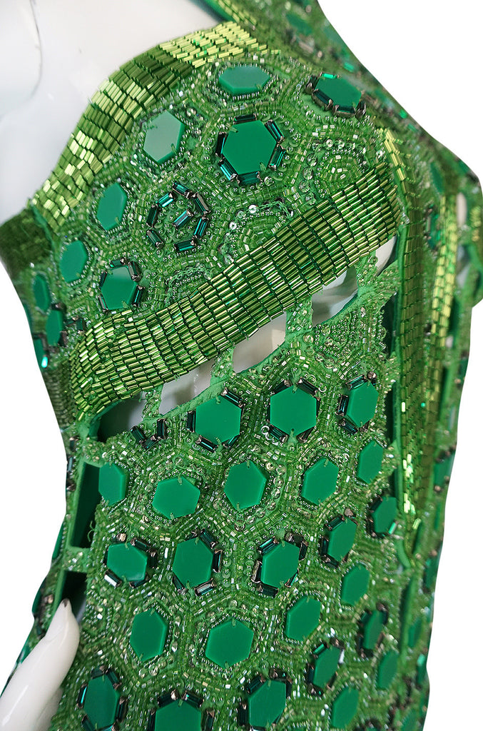 OOAK 2015 Peter Dundas for Pucci Beaded Press Sample Dress