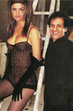 Documented F/W 1990 Azzedine Alaia Black Stretch Lace Dress