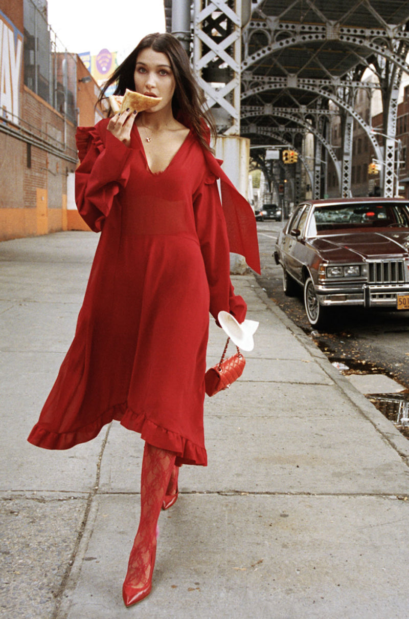 Spring 2016 Vetements Runway Over-Sized Red Dress Unworn w Tags