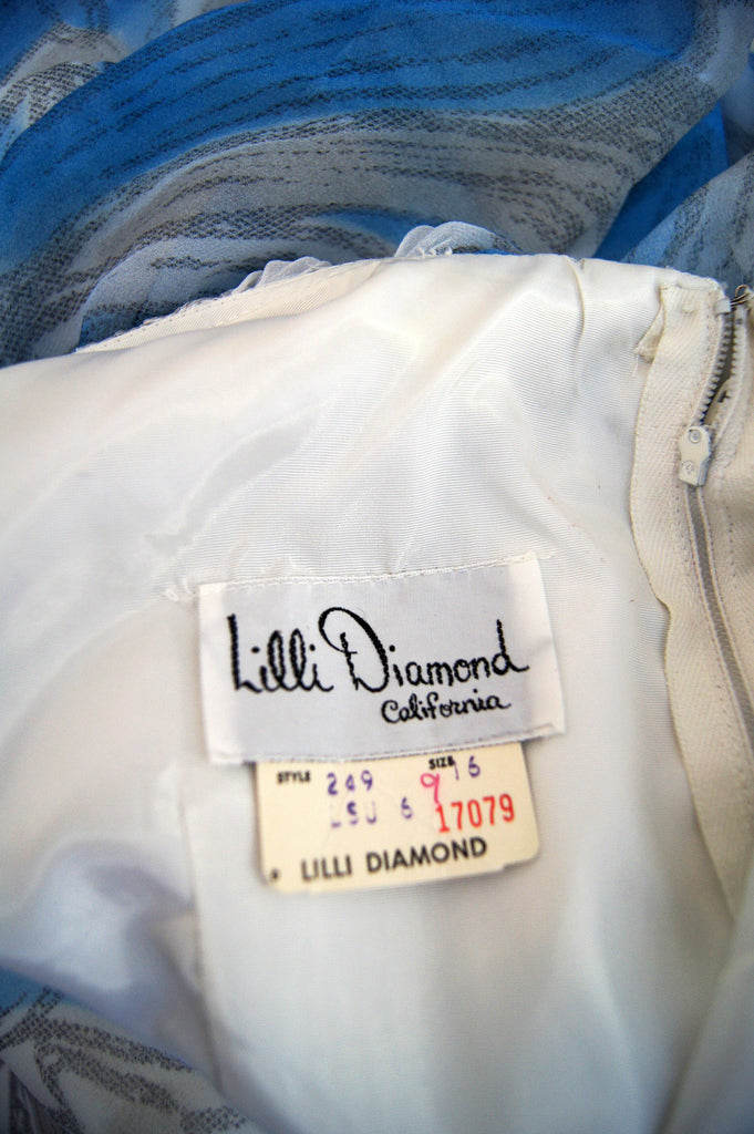 1960s Lrgr Caped Lilli Diamond