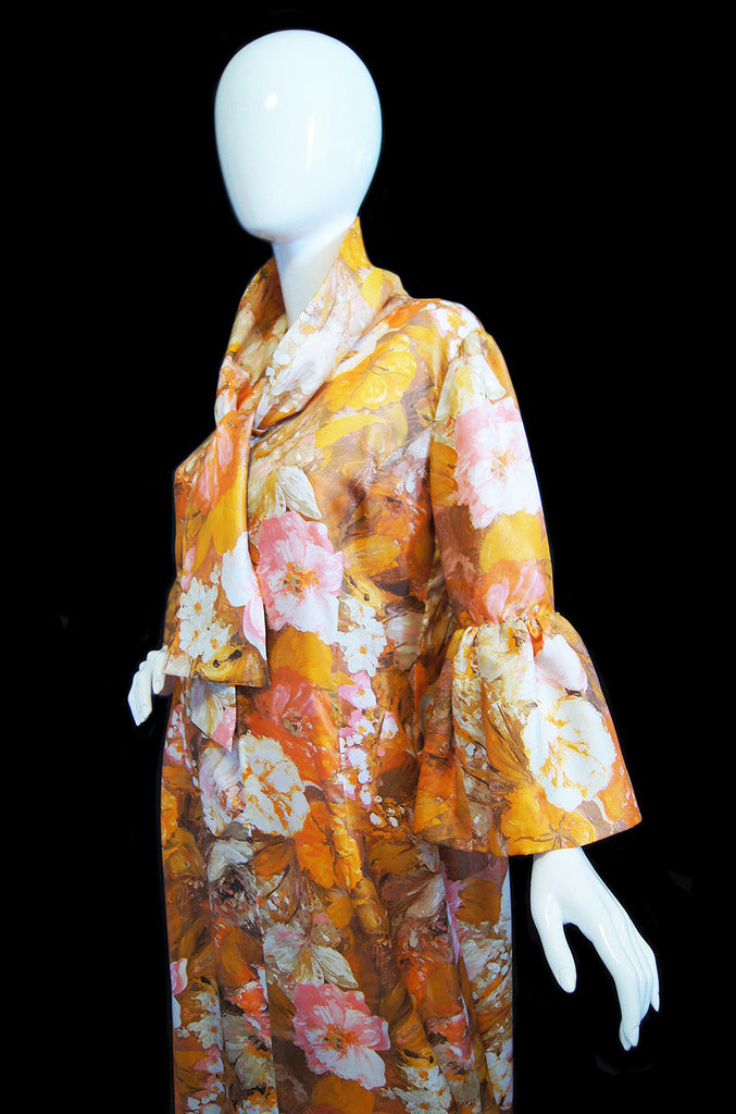 1960s Bell Sleeve Marie France Couture
