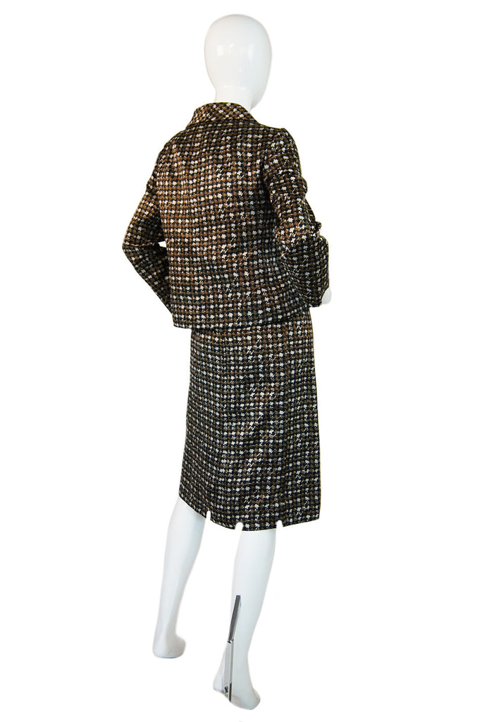 1960s Christian Dior Check Shift & Jacket