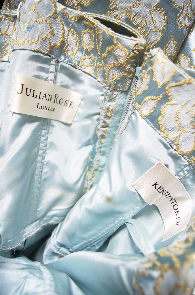 1950s Julian Rose London Silk Brocade