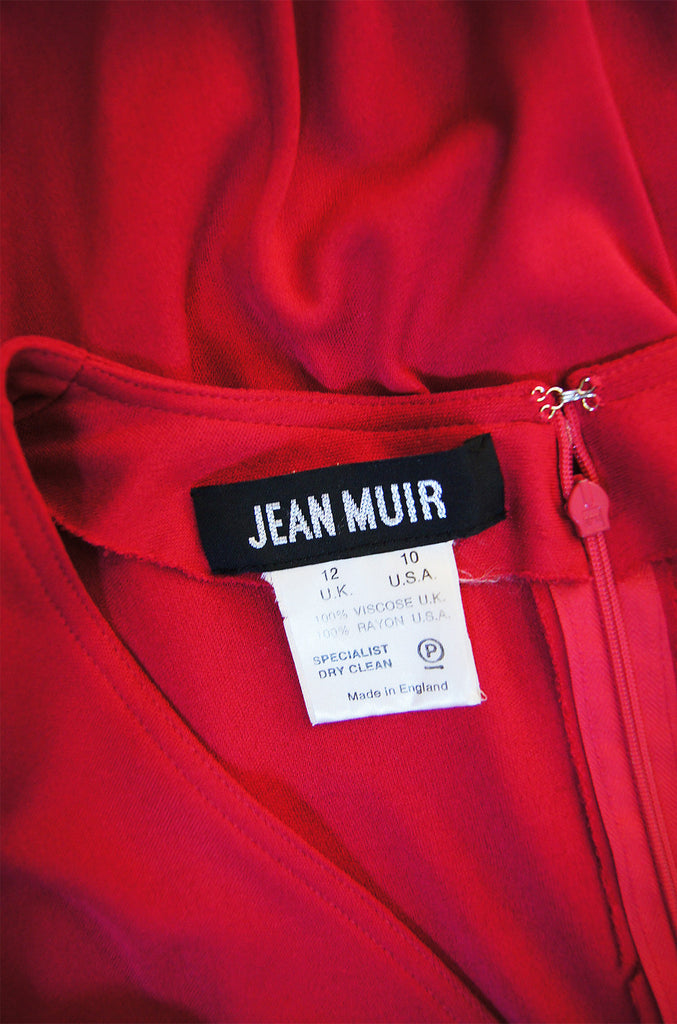 1970s Red Top Stich Jean Muir Jersey