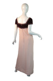 1960s Bob Bugnand Silk & Crystals Dress