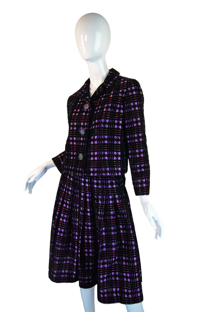 1960s Pattulo-Jo Copeland Check Suit