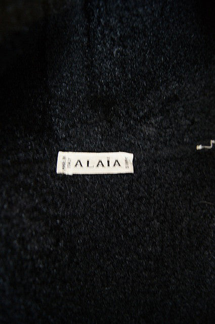 1980s Hooded Plush Alaia Jacket