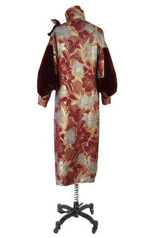 1920s Bergdorfs Lame Flapper Coat