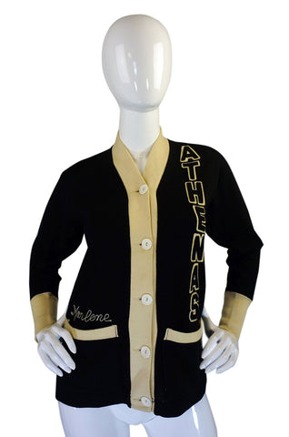 Rare 1920s Athenas Collegiate Sweater