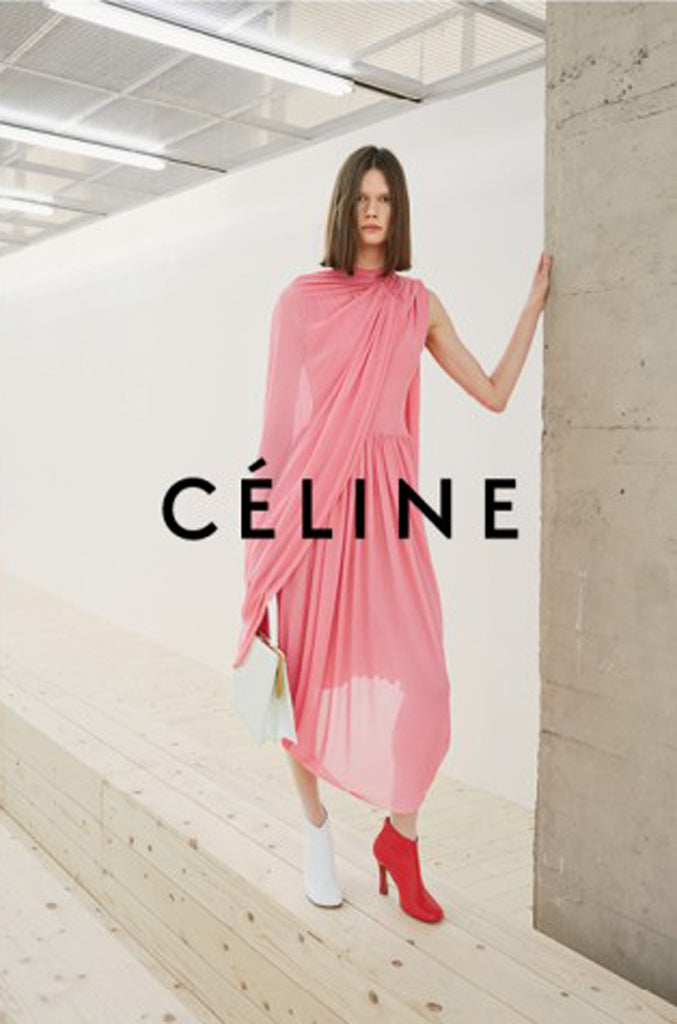 S/S 2017 Phoebe Philo for Celine Runway Highly Documented Draped Jersey Dress