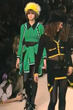 A/W 1994 Runway Green Cashmere Chanel Twinset