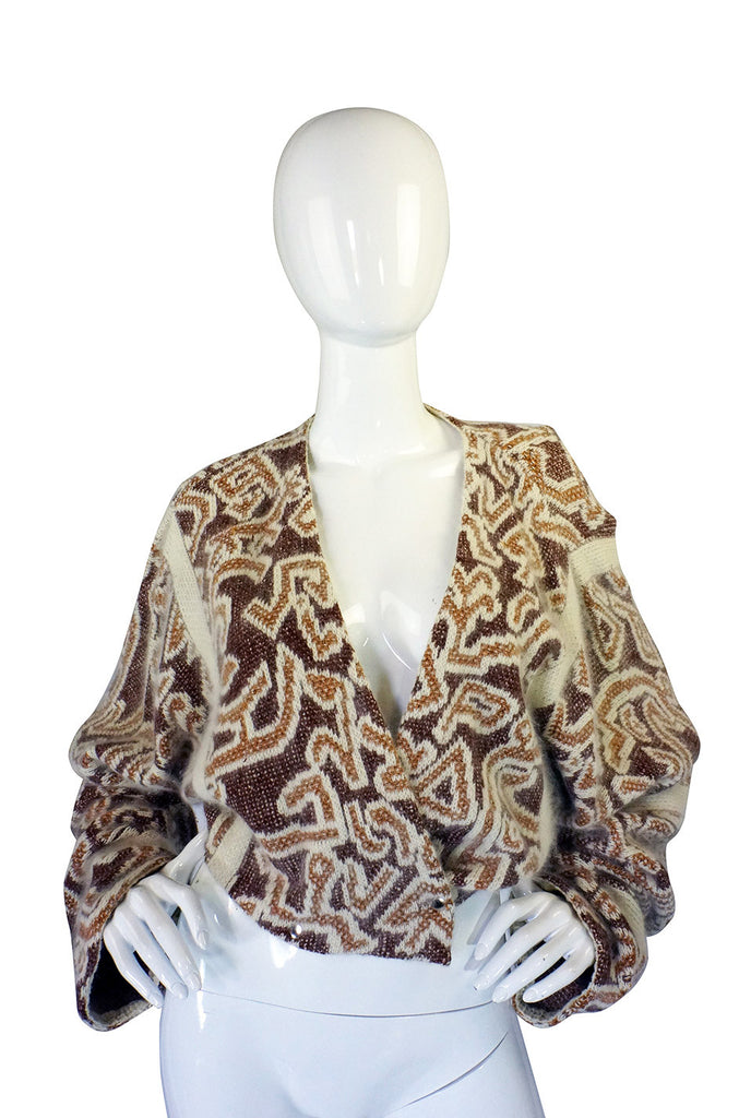 1970s Ted Lapidus Couture Sweater