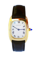 1960s Audemars Piguet Yellow Gold Ultra-Thin Wristwatch