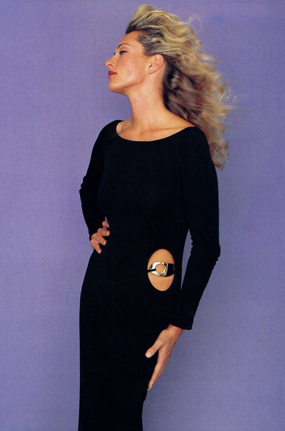 Documented F/W 1996 Tom Ford for Gucci KeyHole Gown ...