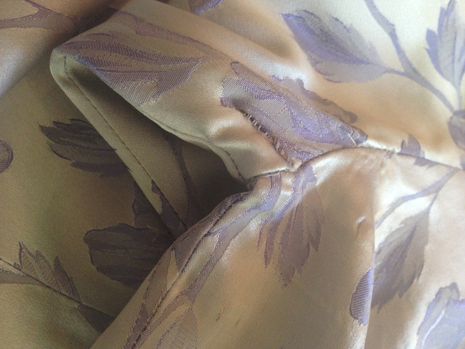 1950s Silvered Lavender Suzy Perette Dress